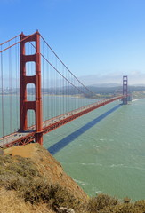 Golden Gate Bridge, San Francisco, California, United States of America, North America