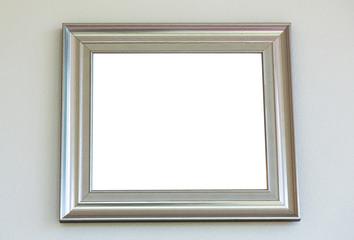 Vintage with frame on wall ( Filtered image processed vintage ef