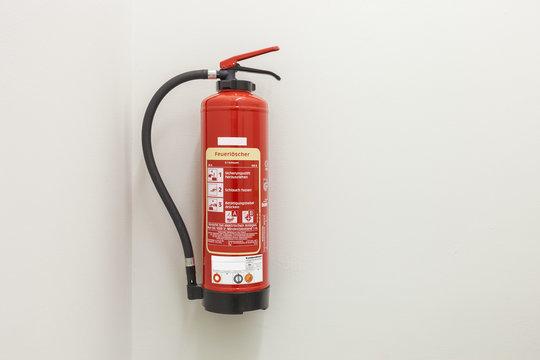 Feuerlöscher Sicherheit