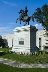 Andrew Jackson Memorial at the State Capitol in Nashville, Tennessee