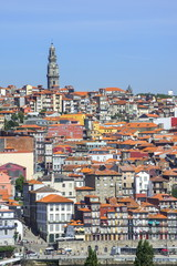 Torre dos Clerigos, Old city, UNESCO World Heritage Site, Oporto, Portugal, Europe