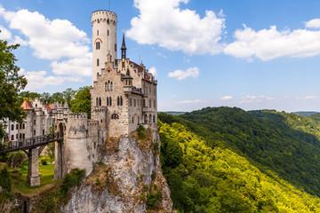 schloss Lichtenstein Landkreis Reutlingen in Baden-Württemberg