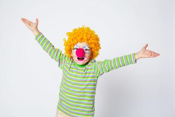 little funny clown