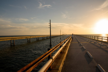Seven Mile Bridge on Florida Keys