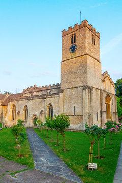 Kirche in Bibury, England