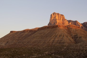 El Capitan in Guadalupe Mountains National Park in Texas