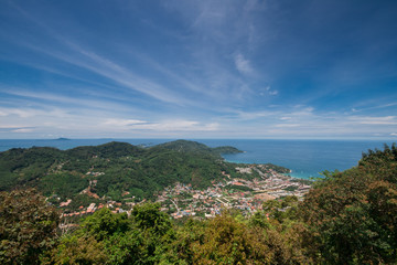 Landscape of Island, Southern Thailand