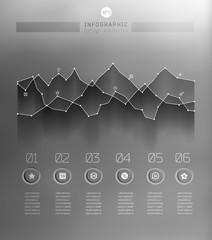 Blur business step transparent and shadows options