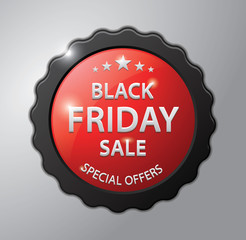 Black friday sale badge : Special Offers