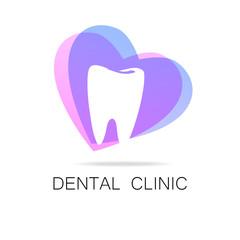 dental clinic healthy smile logo template
