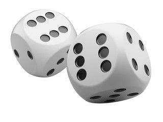 white game dices