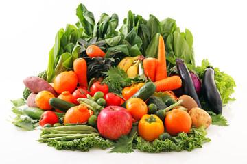 Keuken foto achterwand Keuken 新鮮な野菜と果物