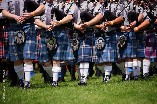 Fototapete Scottish bagpipe