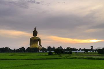 Big Buddha  in Ang Thong Province, Thailand