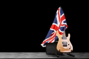 Fotoväggar - Modern electric guitar