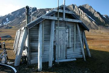 Trapperhütte-Spitzbergen