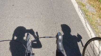 Selfie ciclista
