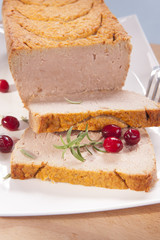 pate with cranberries
