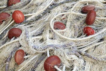 Fishing Net Drying in the Sun
