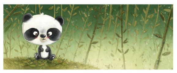 oso panda pequeño