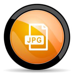 jpg file orange icon