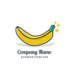 Fruit vector logo icon