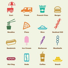 Street food elements