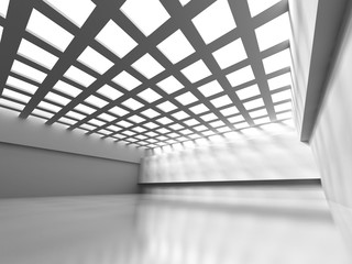Abstract Empty Room Design Interior Background