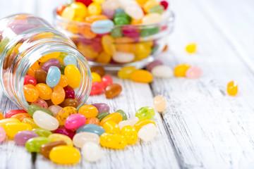 Photo sur cadre textile Confiserie Colorfull Jelly Beans