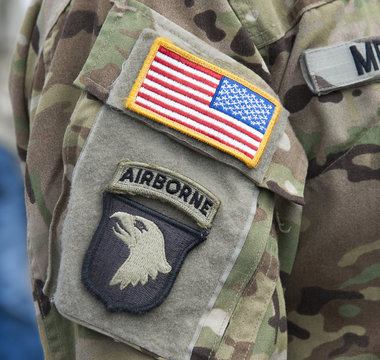 """Velcro Patch - 101st Airborne Division """"Screaming Eagles"""""""