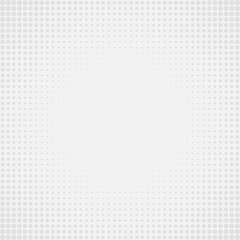 Gray Abstract Background with Circle Dots