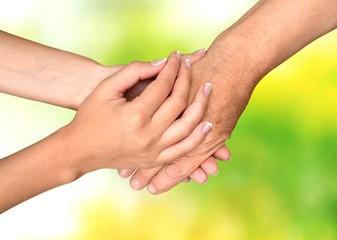 Human Hand, Care, Nursing Home.