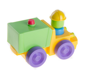 Baby car, Baby toy car on background