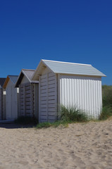 Cabine de plage Normande,