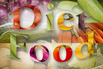 Diet Food Graphic