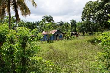 Wohnhaus im landesinnere der Dominikanischen Republik