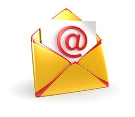 Yellow Mail Envelope