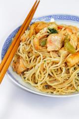 nouilles aux crevettes et saumon 04082015