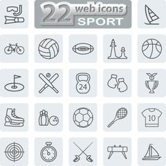 Sport Symbols Icons