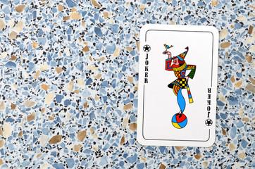 Joker Jongleur, Spielkarte