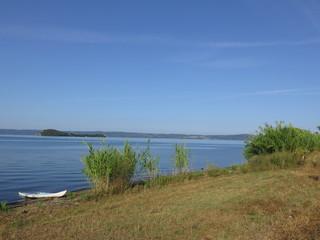 canoa, lago di bolsena