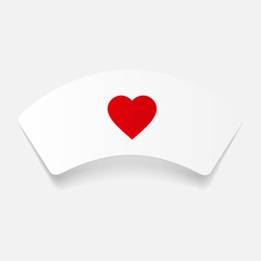 paper sticker: Nurse cap