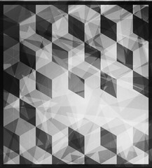 Abstract polygonal background. Triangles background for your