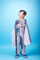 little super hero portrait