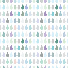 Cute background of the drops of rain