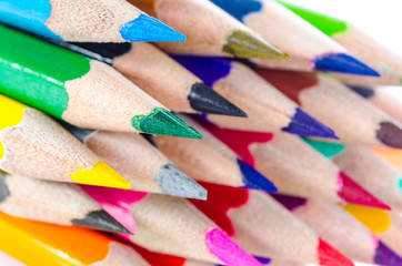 Poster Afrique du Sud Colour pencils