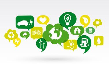 Ecology Icon Social, Marketing