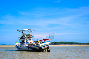 The fishing boat at Thailand