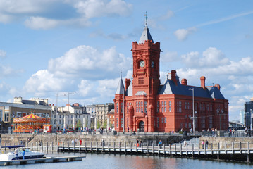 Cardiff Bay Pier-head Building