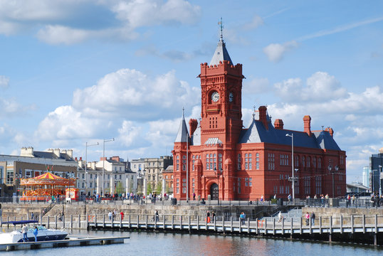 Cardiff Bay Pier-head Building